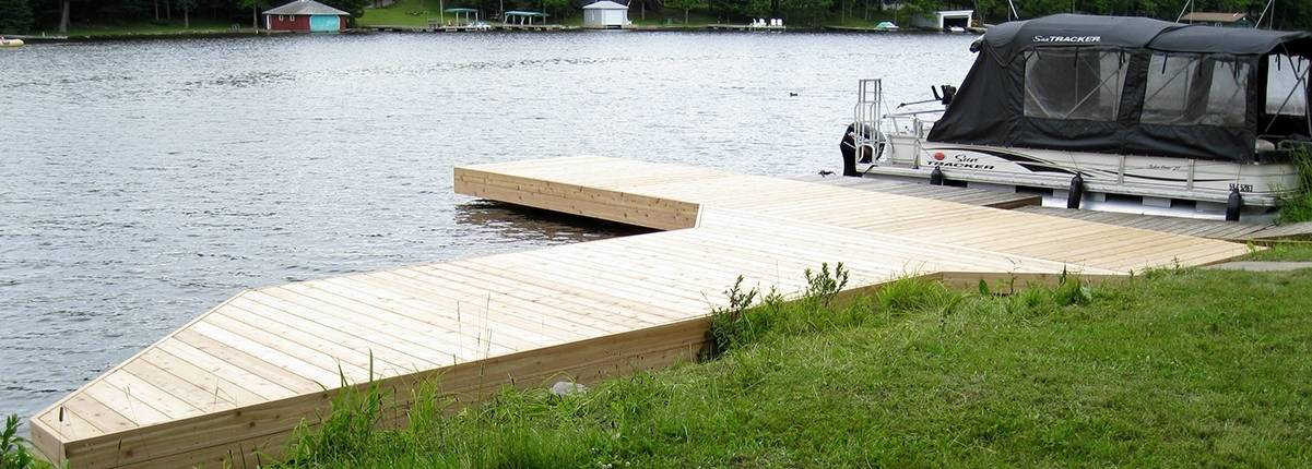 River Swim Dock, Build to Last