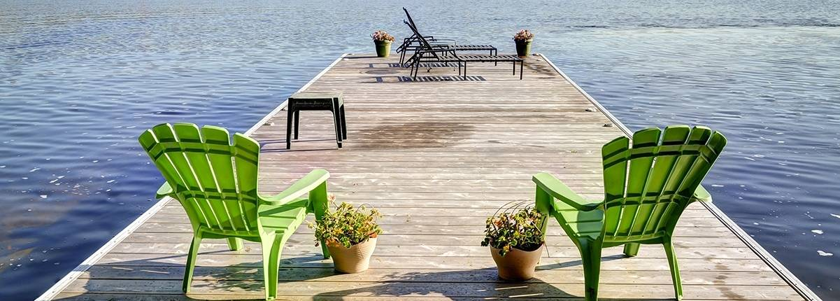 Family Swim Dock
